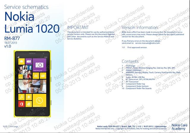 Nokia lumia 1020 service schematics
