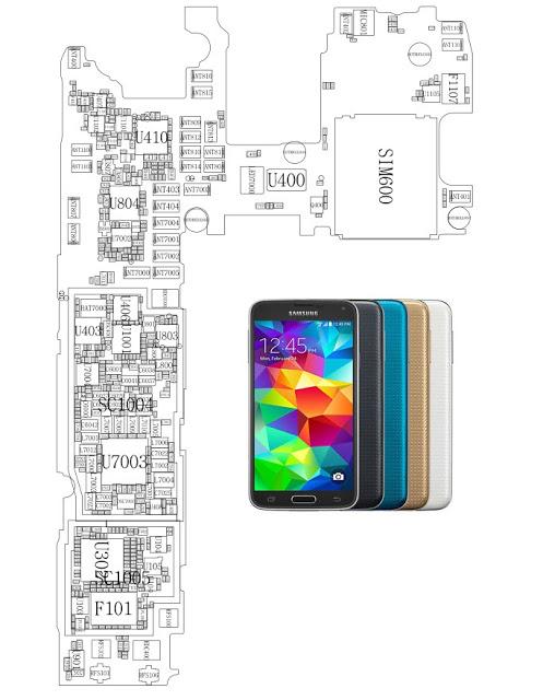 Samsung Galaxy S5 Service Schematics