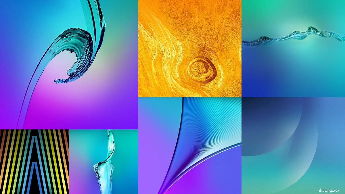 Samsung Galaxy A3, A5, A7 2016 Stock Wallpaper