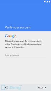mo khoa tai khoan google