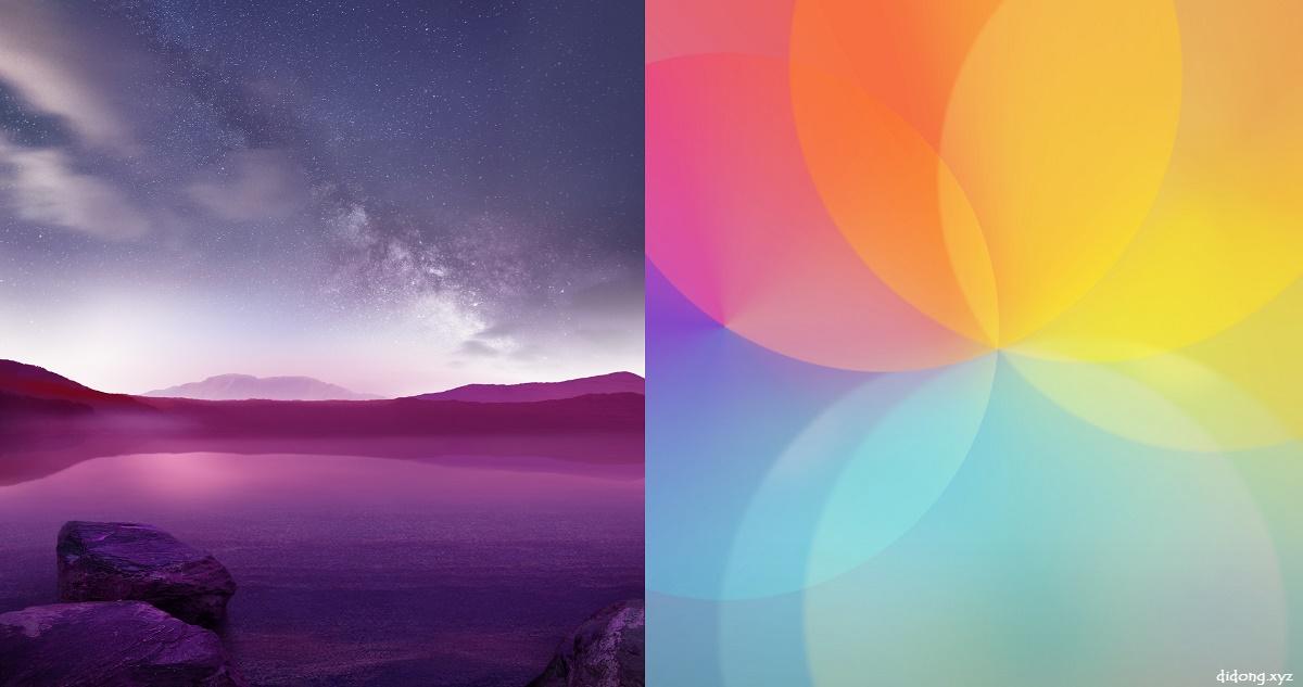LG V10 Stock Wallpapers