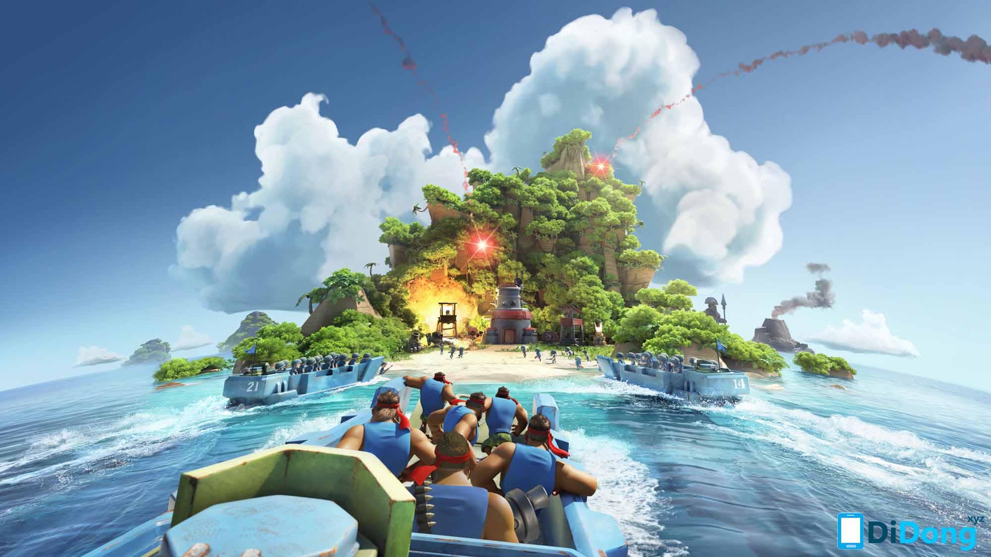 Boom Beach APK phiên bản mới nhất