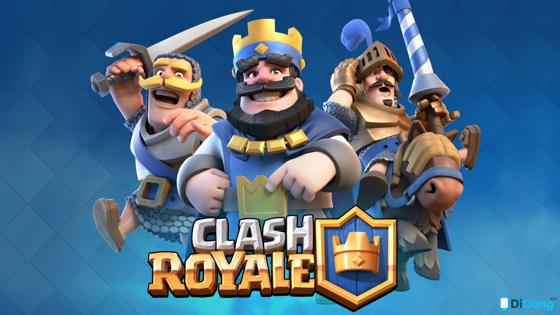 Cài đặt Clash Royale trên máy tính PC