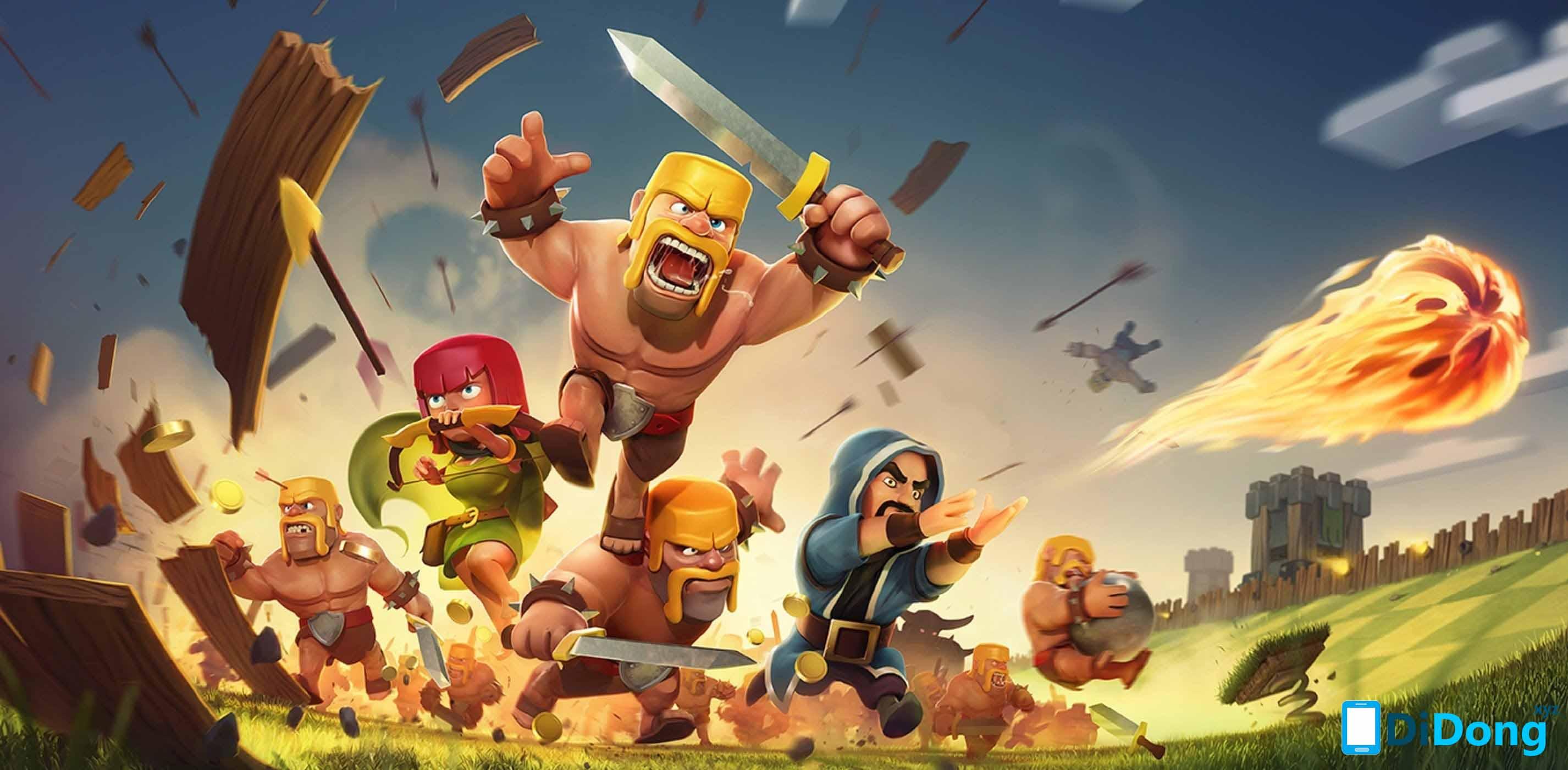Download Clash Of Clans APK phiên bản mới nhất