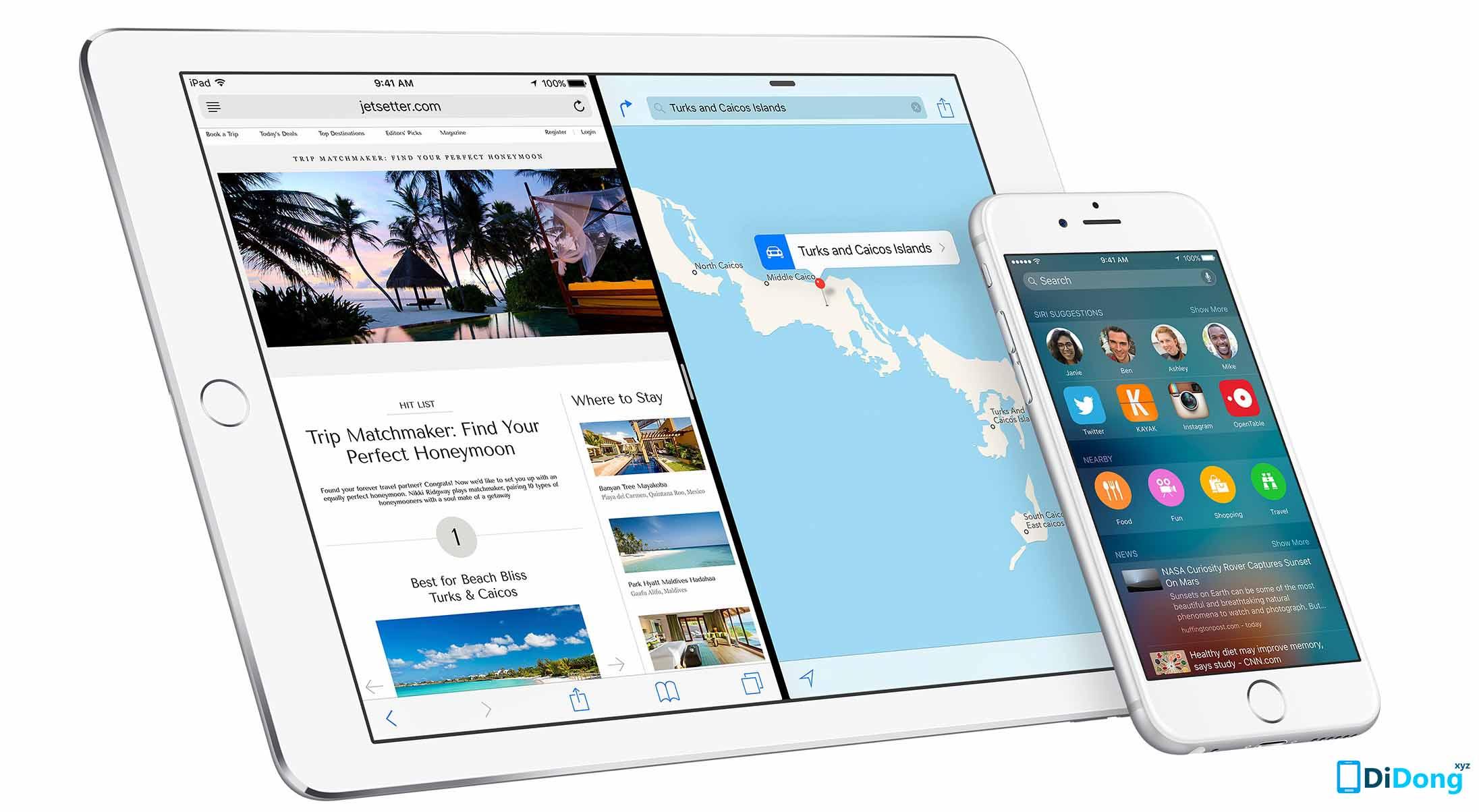 Download iOS 9.2.1 chính thức