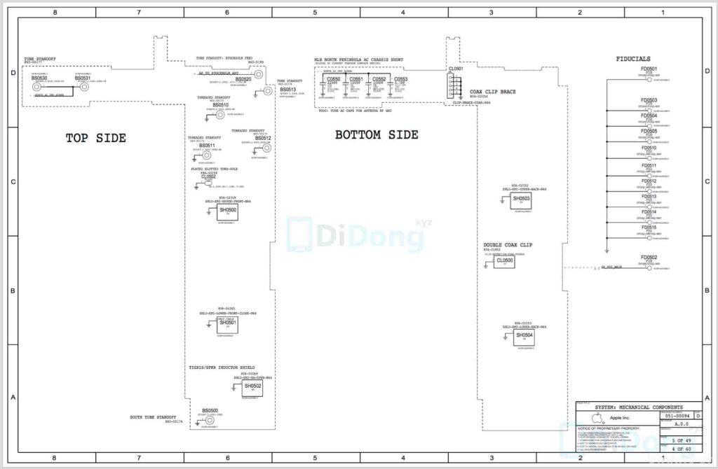 iphone 6s plus schematics