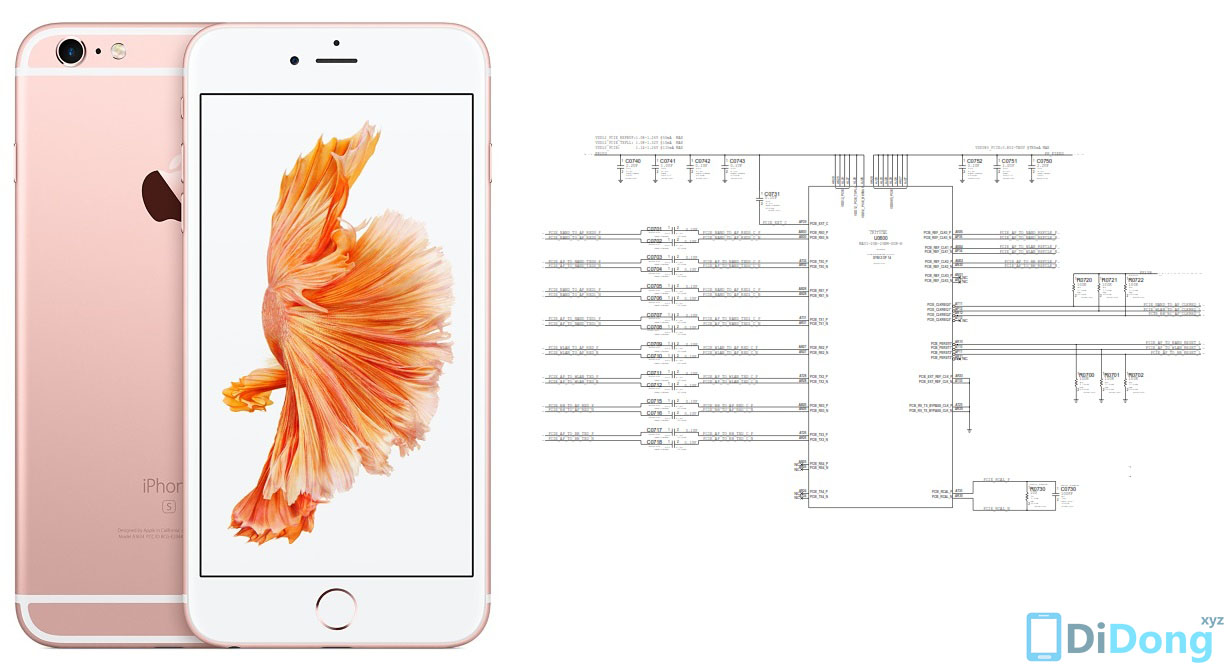 Download Iphone 6s schematics mới nhất