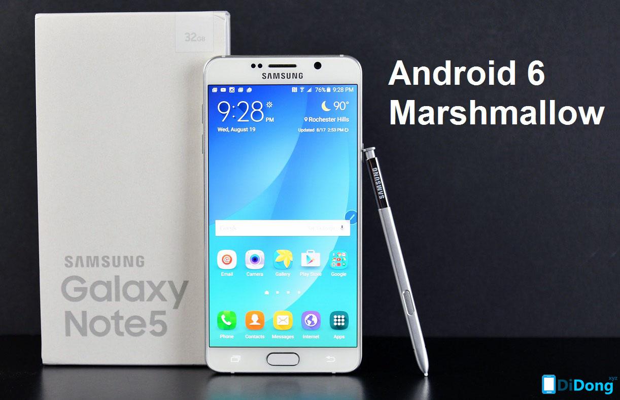Rom gốc Samsung Galaxy Note 5 SM-N920C