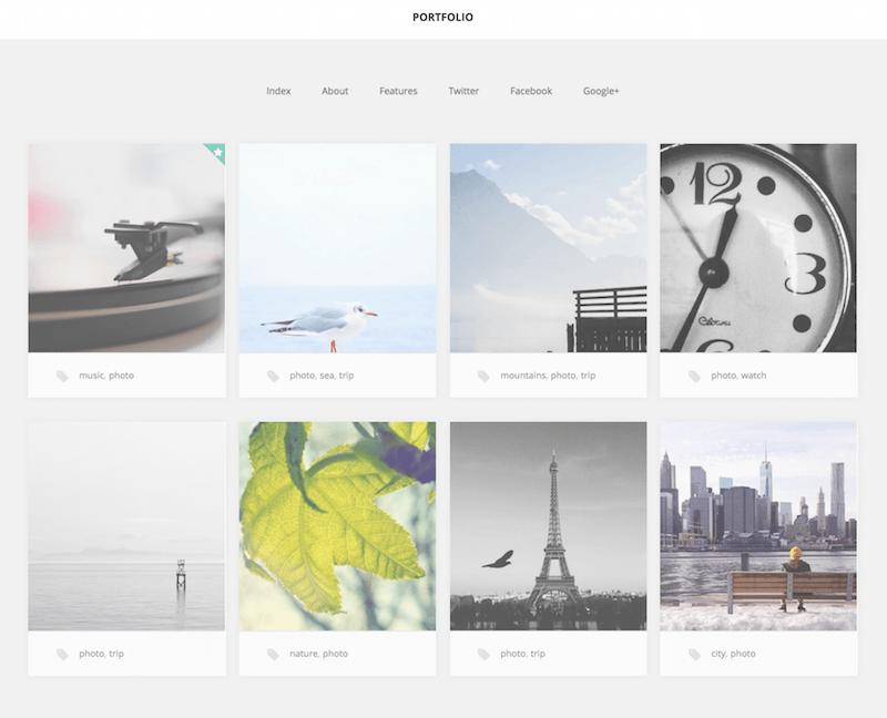 GK Portfolio theme dành cho bộ sưu tập