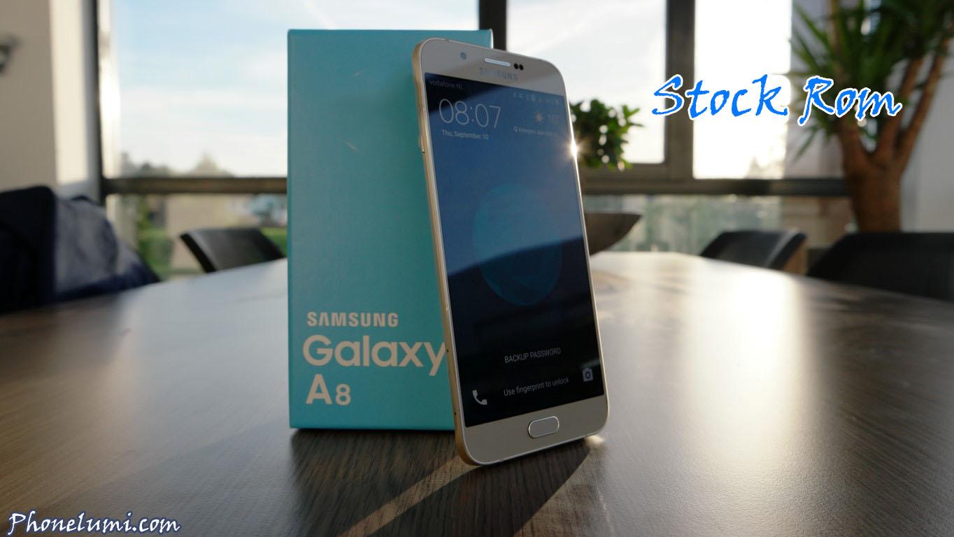 Rom gốc Samsung Galaxy A8 SM-A800F