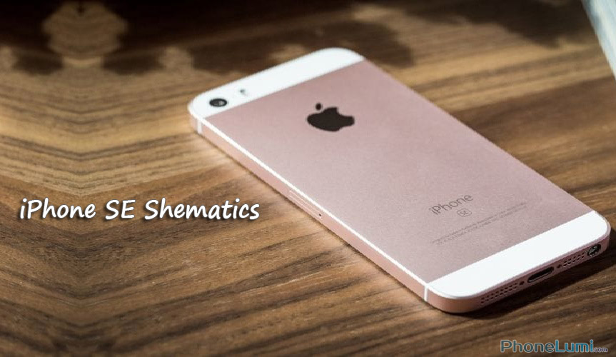 Apple iPhone SE Schematics mới nhất