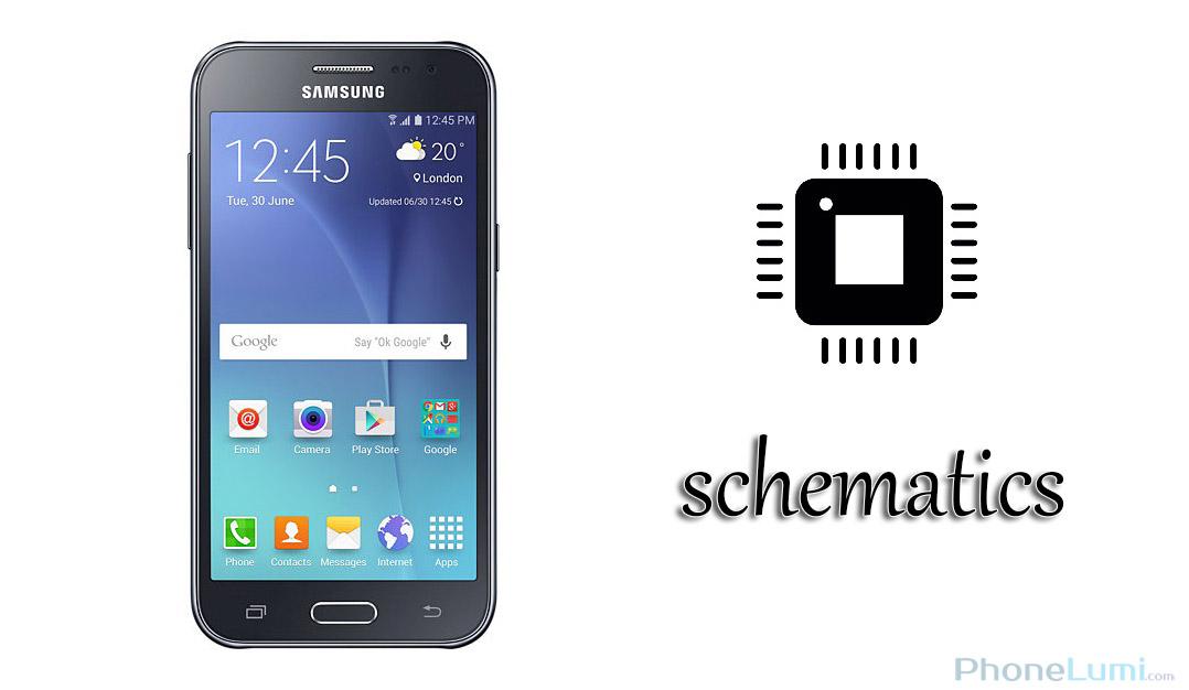 Samsung Galaxy J1 SM-J100H Schematics