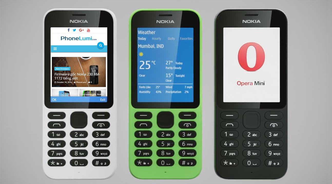 Firmware gốc Nokia 215 RM-1110 tiếng việt