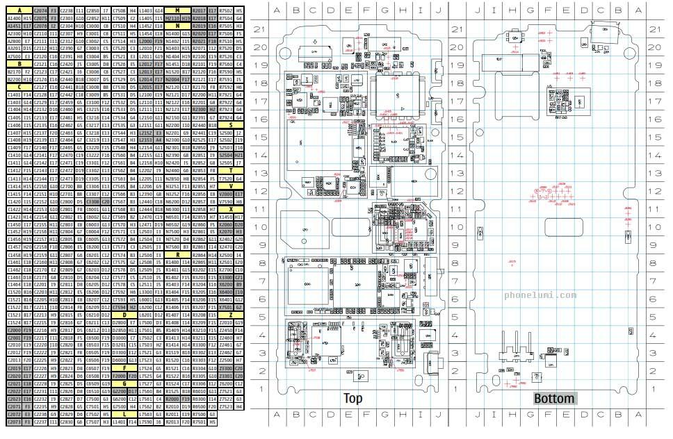 nokia-x6-schematics-top