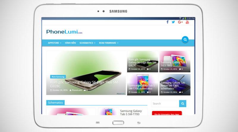 Samsung Galaxy Tab 3 10.1 P5210 schematics