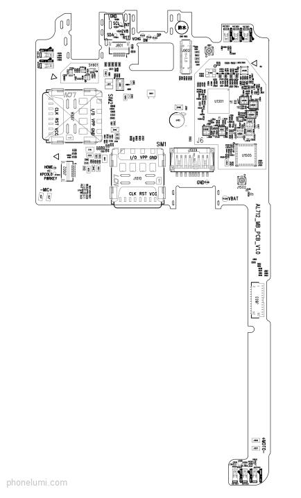 Lenovo A2010 service schematics