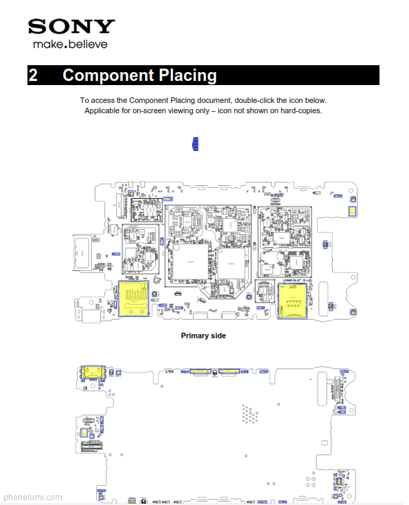Sony Xperia Z3 Compact service manual