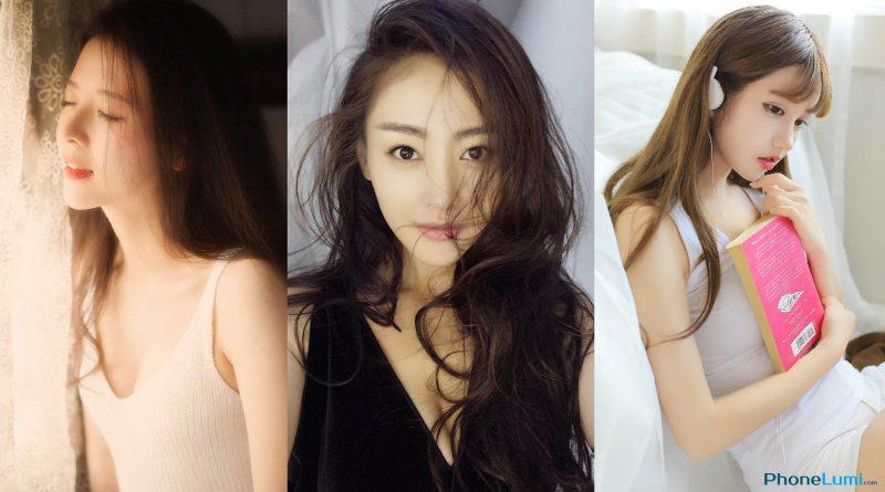 Tải hình girl xinh gái đẹp làm hình nền cho iPhone 7