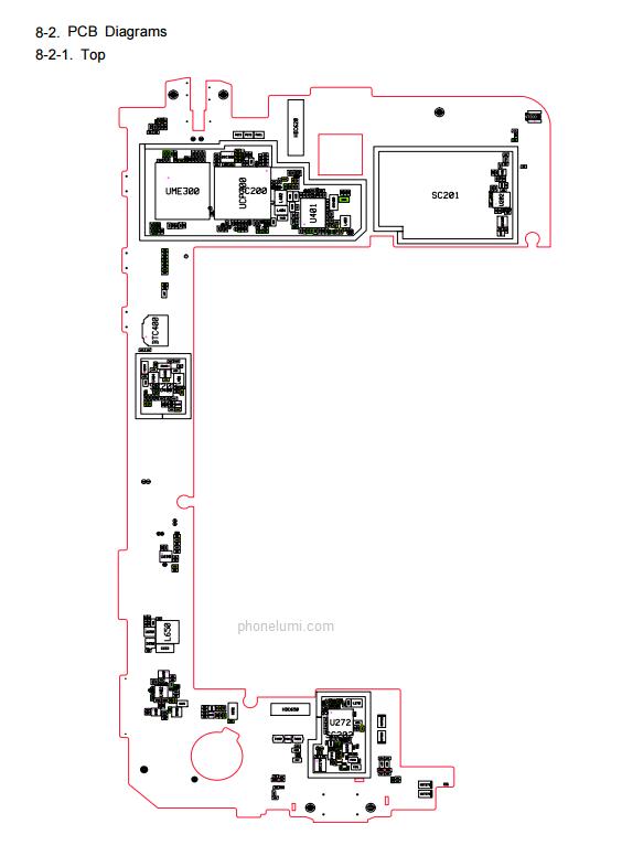 Samsung Galaxy Tab 4 SMT230 schematics