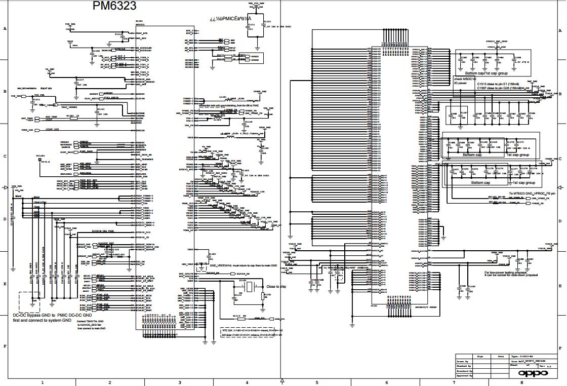 oppo neo 7 a33w schematics