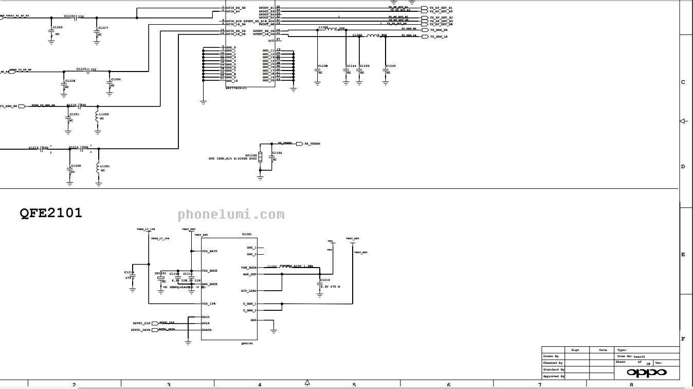 Download Oppo F1 Schematics
