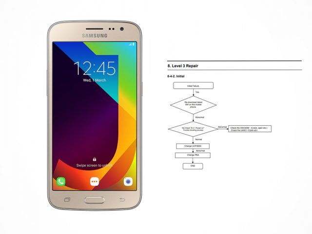 Samsung Galaxy J2 Pro / SM-J210F schematics
