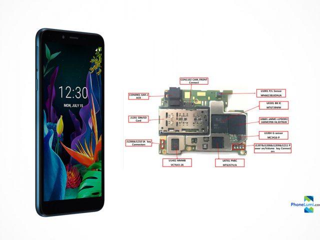 LG K20 LMX120HM schematics