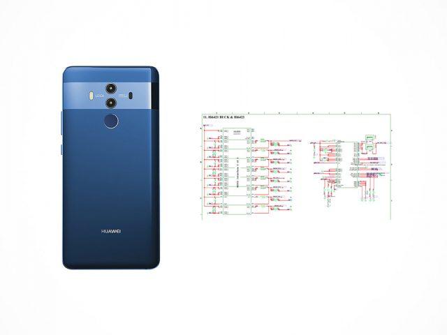 Huawei Mate 10 Pro schematics