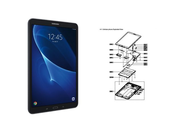 Samsung Galaxy Tab A 10.1 SM-T587 schematics