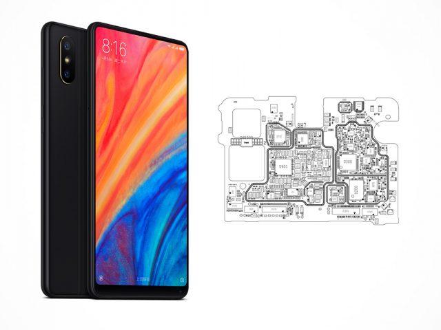 Xiaomi Mi Mix 2S schematics
