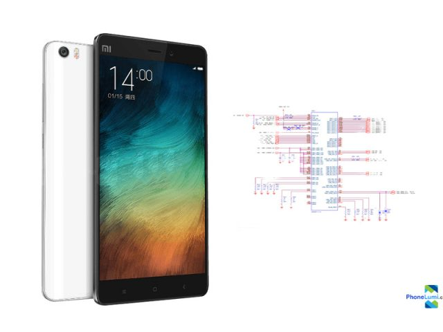 Xiaomi Mi Note schematics