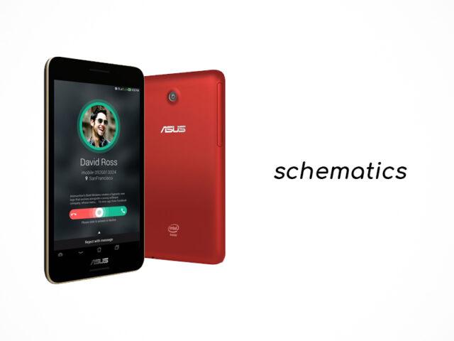 Asus Fonepad 7 FE375CG schematics