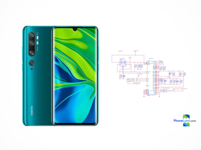 Xiaomi Mi CC9 Pro schematics