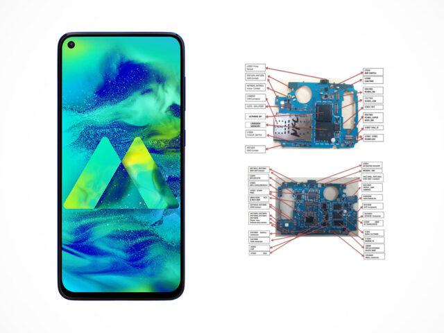Samsung Galaxy M40 (SM-M405F) schematics