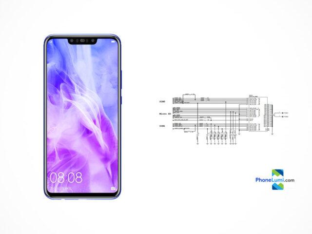 Huawei Nova 3 schematics
