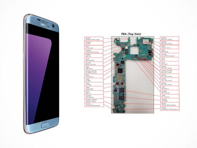 Samsung Galaxy S8 SM-G950D schematics
