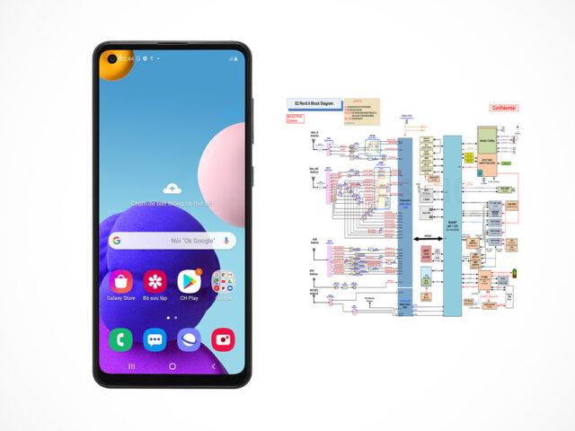 Samsung Galaxy A21s (SM-A217F) schematics